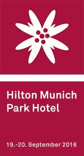 Hilton Munich Park Hotel, September 19-20, 2016